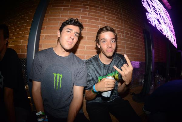 Porpe Selfie at X Games Jimmy Wilkins