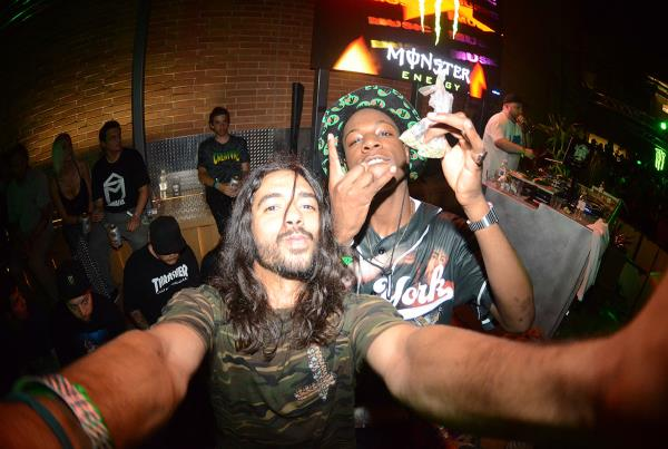 Porpe Selfie at X Games Joey Badass Weed