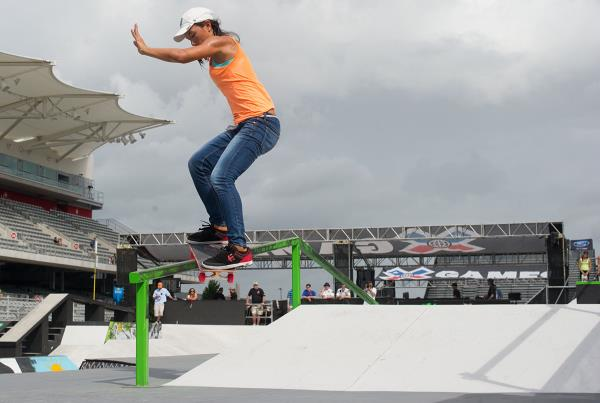 Laura Fong Yee Smith Grind at X Games Austin