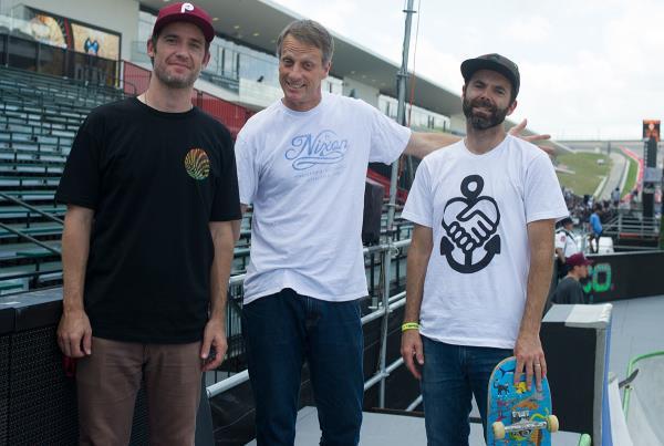 Tony Hawk and Vert Dudes at X Games Austin 2014