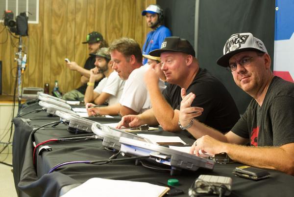 Judges at X Games Austin