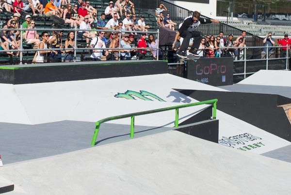 Blake Carpenter Gap Ollie at X Games Austin