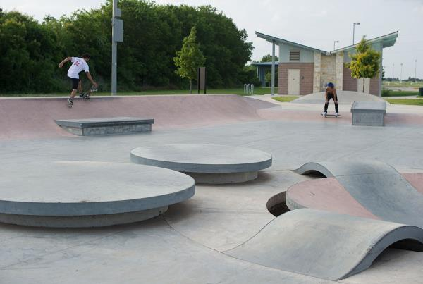 Pflugerville Skate Park Outside Austin Texas
