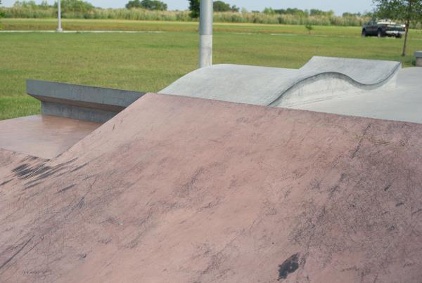 Pflugerville Skate Park Outside Austin Texas Weirdness