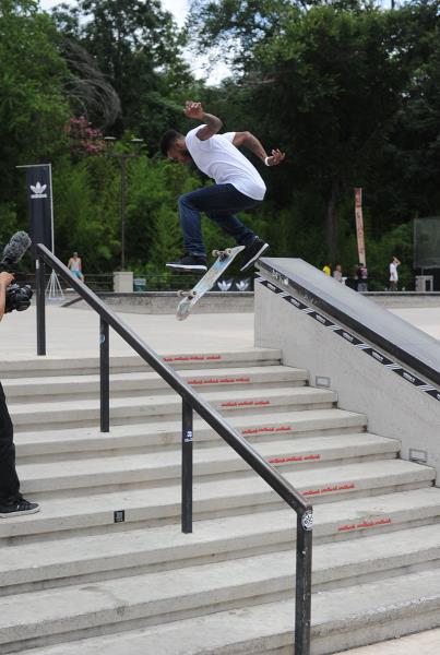 Tyler Tutaj at Skate Copa Austin