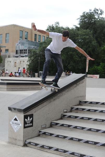 Simon Bingham at Skate Copa Austin