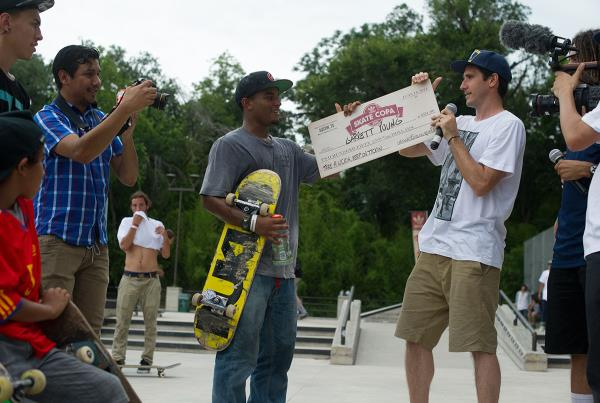Garrett Young Special Award at Skate Copa Austin