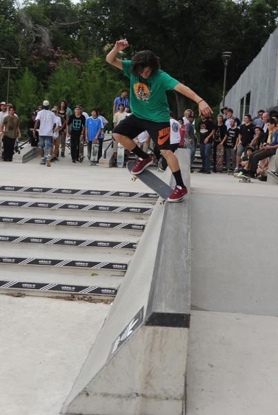 Jereme Knibbs at Skate Copa Austin
