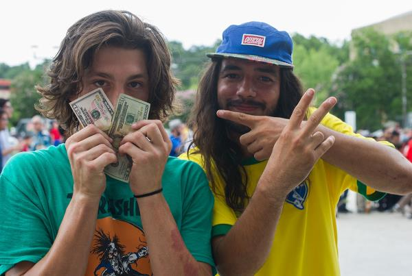 Jereme Knibbs Cash In at Skate Copa Austin