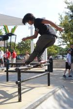 Uncle Sam Dipped on the Bar at Innoskate
