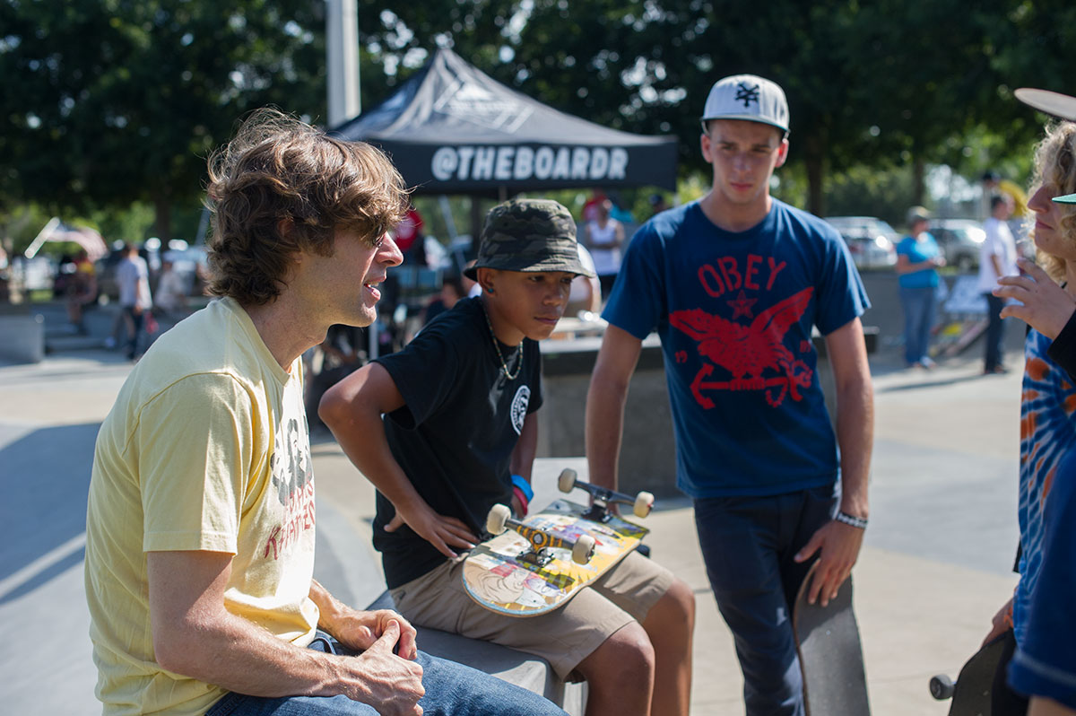Chatting with Rodney Mullen at Innoskate