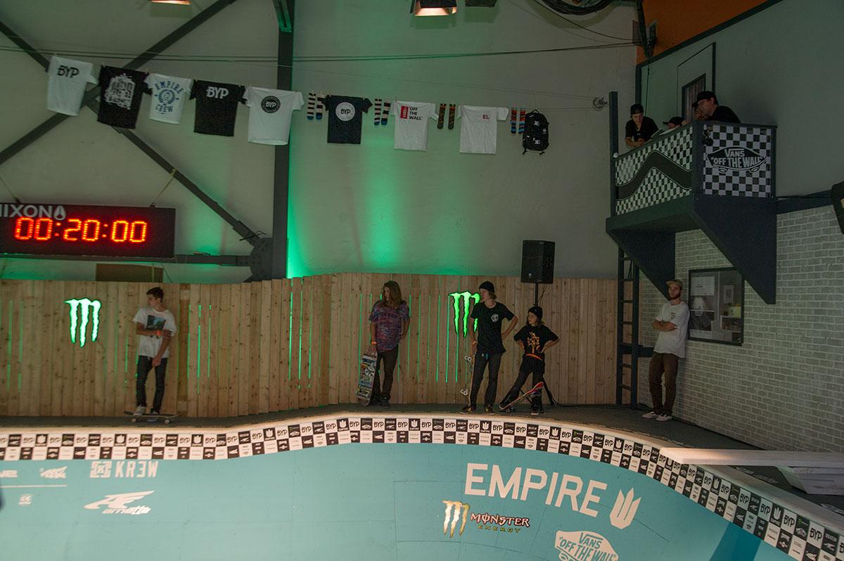 Empire Backyard Party Judging Perch