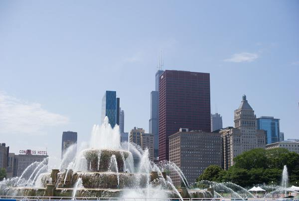 Chicago Tourism Married With Children Fountain