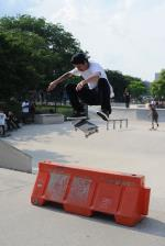 Nice looking shifty flip by Luan.