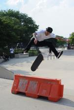 Spread eagle switch 360 flip.