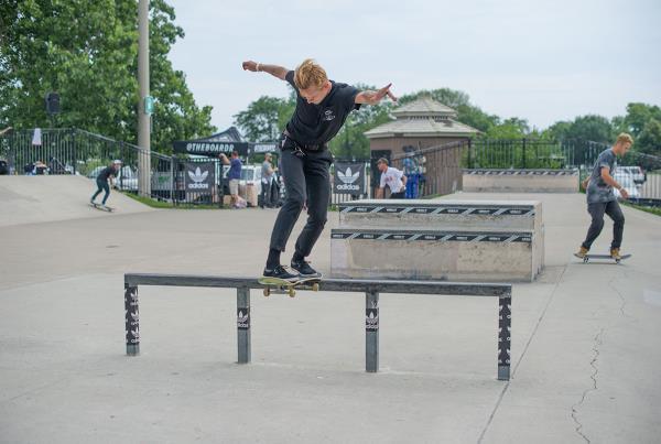 Cotie Robinson at adidas Skate Copa