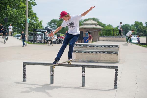 Jonathon Reese at adidas Skate Copa