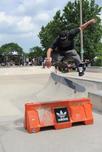 Joe Lanenga 360 Flip at adidas Skate Copa
