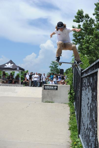 Cody Davis Noseslide at adidas Skate Copa Chicago