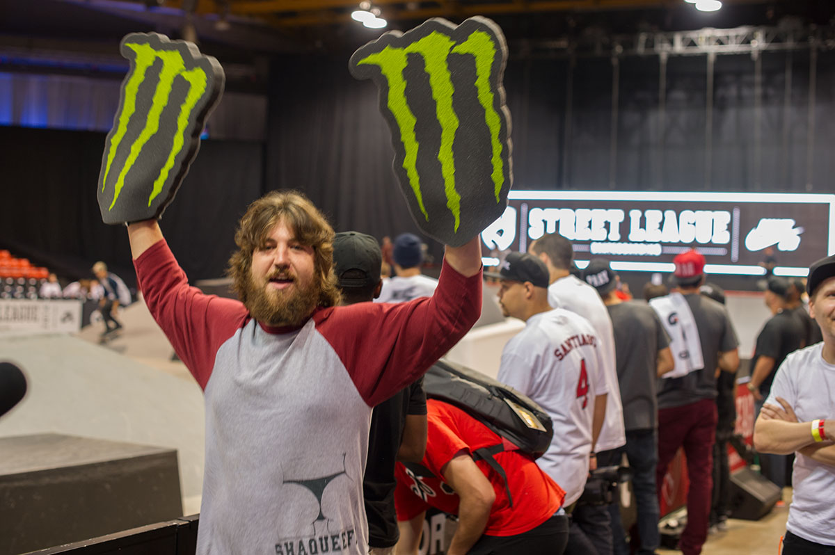 Body at Street League Chicago
