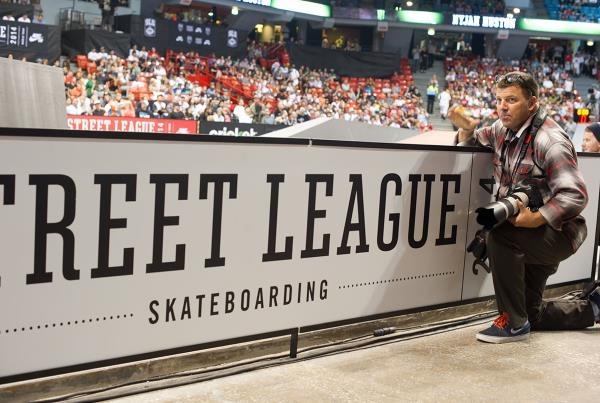 Bryce Kanights at Street League Chicago