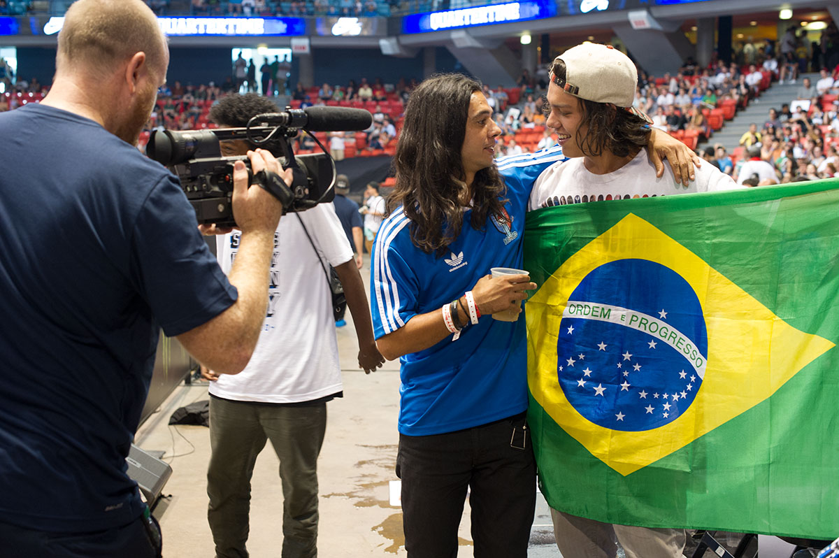 Porpe's Soccer Friends from Brazil at Street League Chicago