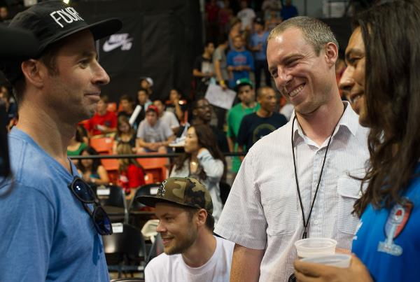 Mike Carroll at Street League Chicago