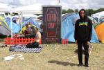 Roskilde Music Festival 2014 Jimmy Wilkins Coffin Camp