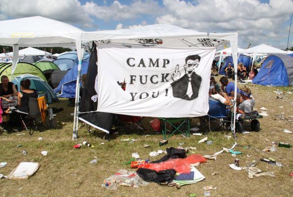 Roskilde Music Festival 2014 Camp FU