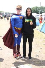 Roskilde Music Festival 2014 Superman and Jimmy