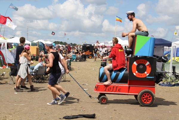 Roskilde Music Festival 2014 Wagon Wheel