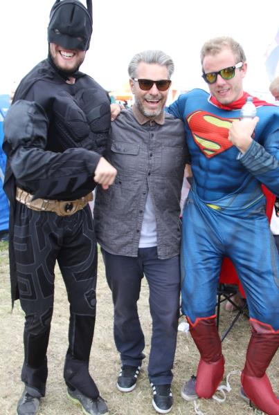 Roskilde Music Festival 2014 Clements and Superheros