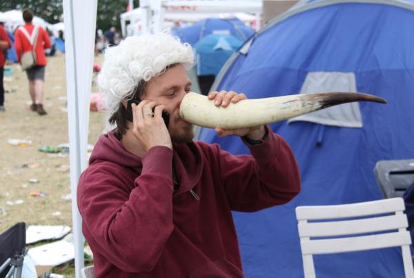 Roskilde Music Festival 2014 Horn Drink