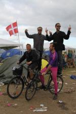 Roskilde Music Festival 2014 Clements Gay Bikers