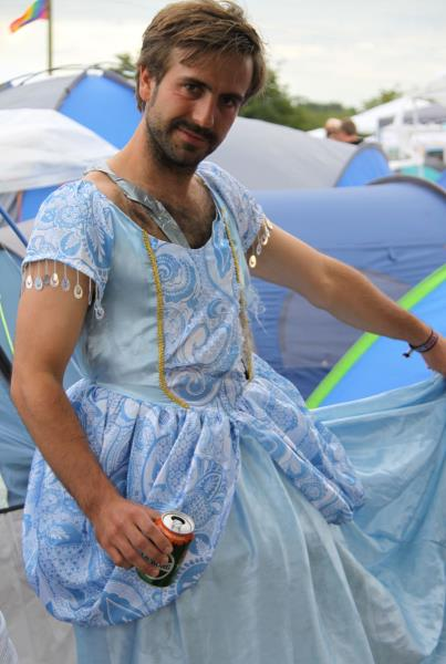 Roskilde Music Festival 2014 Man Fairy