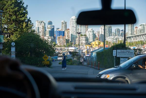 Driving Through Vancouver