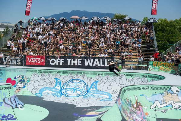 The Crowd at Van Doren Invitational