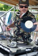 DJ Vinyl Richie at Van Doren Invitational