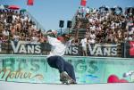 Riley Stevens Frontside Smith Grind at Van Doren Invitational