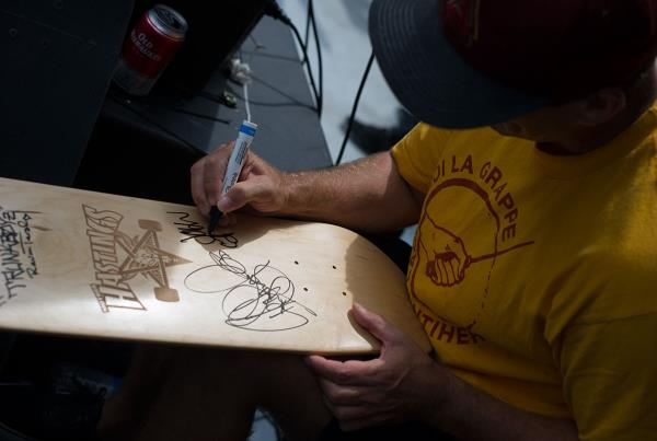 John Cardiel Autographs at Van Doren Invitational