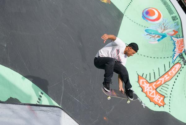 Omar Hassan at Van Doren Invitational