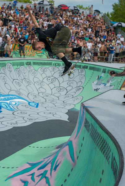 Raven Indy Over the Hip at Van Doren Invitational