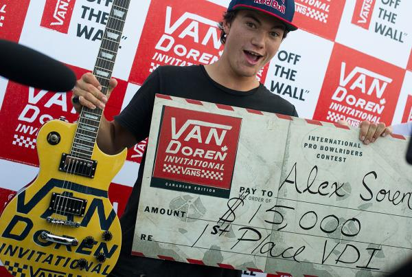 Congrats Alex Sorgente at Van Doren Invitational