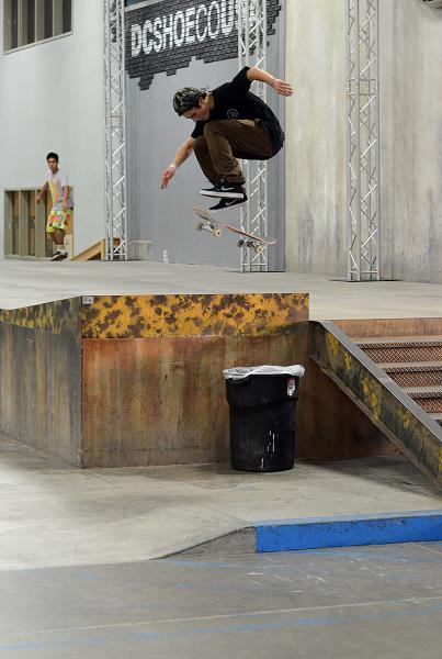 Christian Dufrene Hardflip at adidas Skate Copa The Berrics