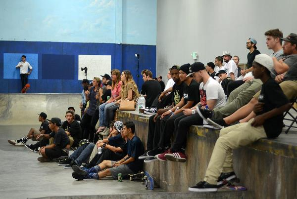 The Crowd at adidas Skate Copa Berrics