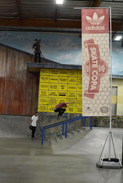 Video Coverage at adidas Skate Copa Berrics