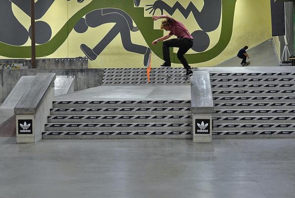 Austin Flood at adidas Skate Copa Berrics