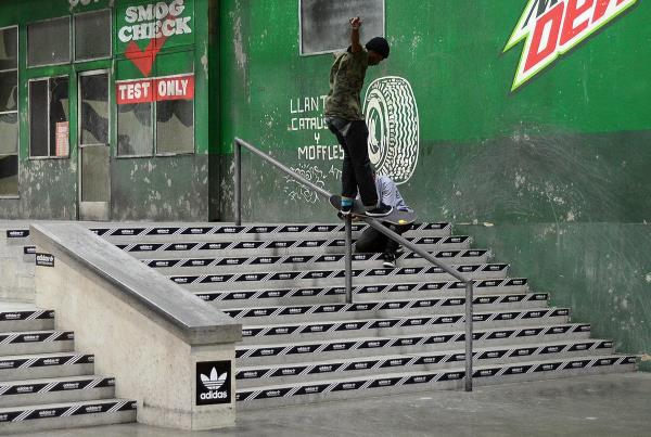 Tre Williams at adidas Skate Copa Berrics