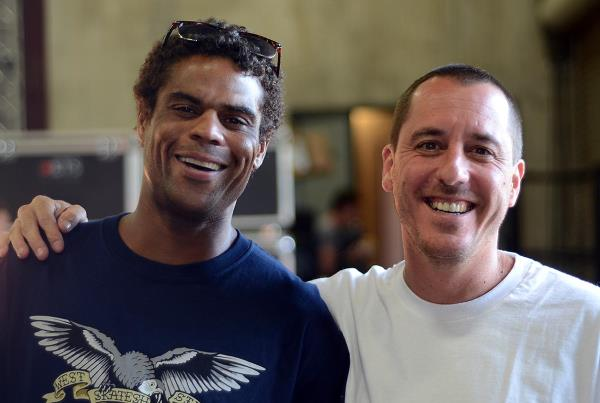 Tyrone Olson and John Montesi at adidas Skate Copa Berrics