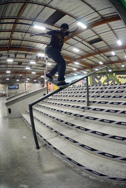 Tre Williams BSNB at adidas Skate Copa Berrics